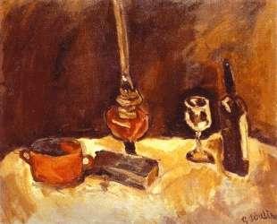 Still Life with Lamp — Хаим Сутин