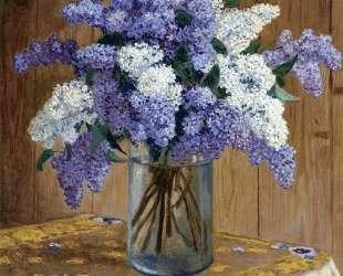 Still Life with Lilacs — Николай Богданов-Бельский