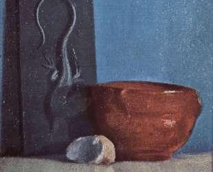 Натюрморт с ящерицей — Эдгар Дега