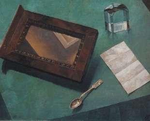 Натюрморт с зеркалом — Кузьма Петров-Водкин