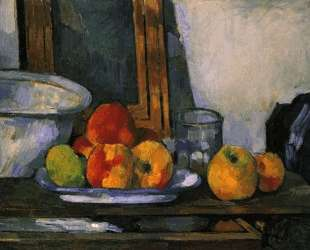 Still life with open drawer — Поль Сезанн