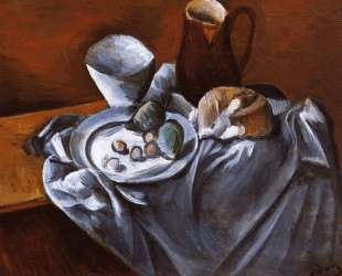 Still LIfe with Pears and Indian Bowl — Андре Дерен