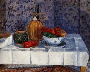 Still Life with Peppers — Камиль Писсарро