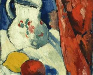 Still Life with Pitcher and Fruit — Морис де Вламинк