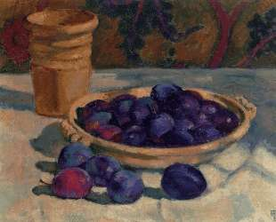 Still Life with Plums — Тео ван Рейссельберге