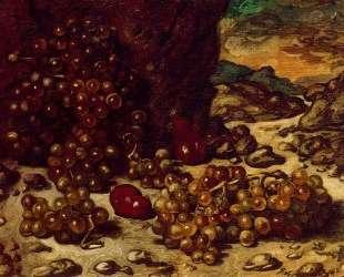 Натюрмотрт со скалистым пейзажем — Джорджо де Кирико