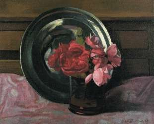 Still Life with Roses — Феликс Валлотон