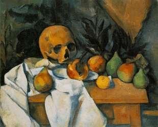 Still Life with Skull — Поль Сезанн