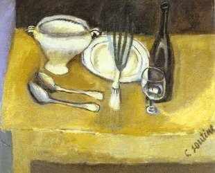 Still Life with Soup Tureen — Хаим Сутин