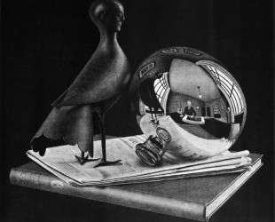 Still Life with Spherical Mirror — Мауриц Корнелис Эшер