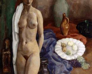 Still life with standing nude — Ян Слёйтерс