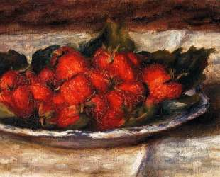 Still Life with Strawberries — Пьер Огюст Ренуар