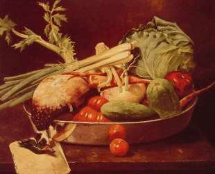 Still Life with Vegetable — Уильям Меррит Чейз