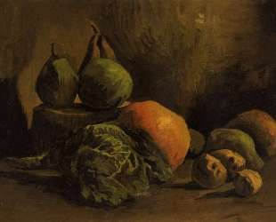 Still Life with Vegetables and Fruit — Винсент Ван Гог