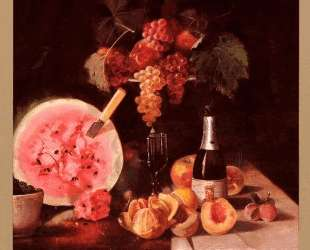 Still Life With Watermelon — Уильям Меррит Чейз