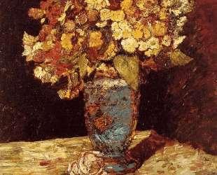 Still Life with Wild and Garden Flowers — Адольф Жозеф Тома Монтичелли
