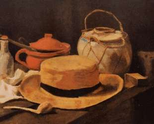 Still Life with Yellow Hat — Винсент Ван Гог