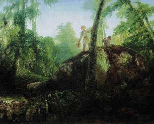 Камень в лесу у Разлива — Алексей Саврасов