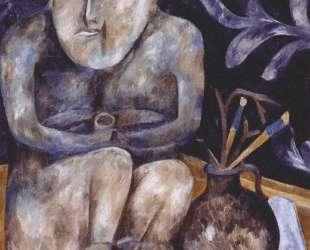 Stone maiden (Still life) — Наталья Гончарова