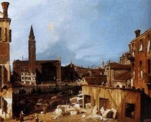 Stonemason's Yard — Каналетто
