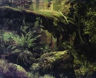 Камни в лесу. Валаам — Иван Шишкин