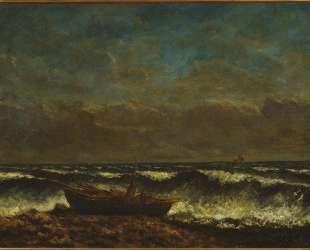 Бурное море (Волна) — Гюстав Курбе