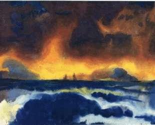 Stormy sea — Эмиль Нольде