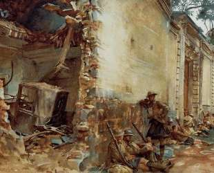 Street in Arras — Джон Сингер Сарджент