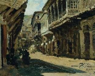Улица в Тифлисе — Илья Репин