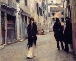 Street in Venice — Джон Сингер Сарджент