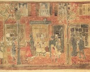 Street Scene — Морис Прендергаст