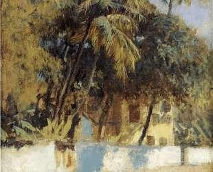 Street Scene, Bombay — Эдвин Лорд Уикс