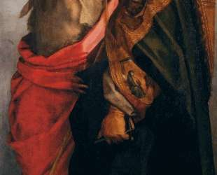 Sts John the Baptist and Bernardo degli Uberti — Андреа дель Сарто