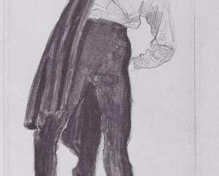 Student, appealing his tunic — Фердинанд Ходлер