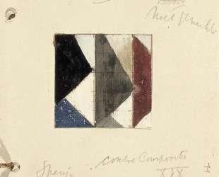 Studie voor Contra compositie XIX — Тео ван Дусбург