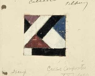 Studie voor Contra compositie XXI — Тео ван Дусбург