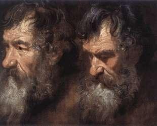 Этюды мужской головы — Антонис ван Дейк