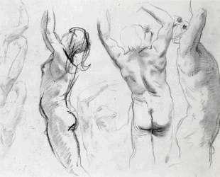 Studies of a Nude Youth — Джон Сингер Сарджент