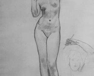 Studies of Aphrodite for Aphrodite and Eros — Джон Сингер Сарджент