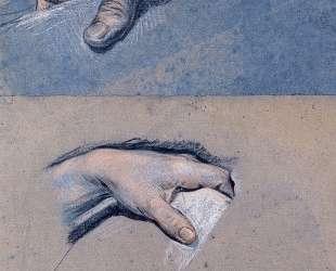 Studies of men's hands — Морис Кантен де Латур