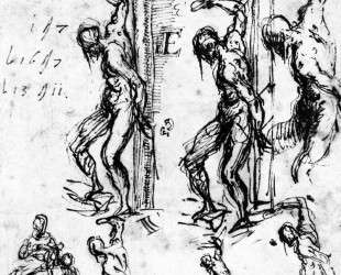 Studies of Saint Sebastian — Тициан