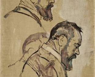Studies of self-portrait — Фердинанд Ходлер