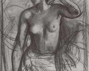 Этюд к женскому портрету — Зинаида Серебрякова