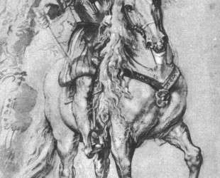 Study for an Equestrian Portrait of the Duke of Lerma — Питер Пауль Рубенс