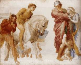 Study For Coriolanus — Джордж Фредерик Уоттс