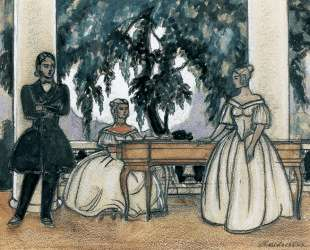 Study for 'Eugene Onegin' — Сергей Судейкин