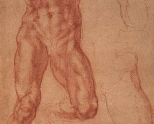 Study for Haman — Микеланджело