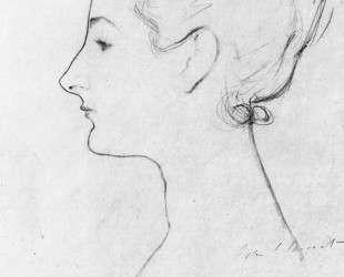 Study for Madame X — Джон Сингер Сарджент