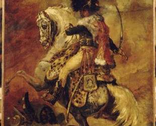 Study for Officer of Chasseurs of the Imperial Guard — Теодор Жерико