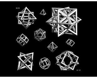 Study for Stars — Мауриц Корнелис Эшер